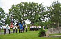Memorial Day at Storytown Cemetery