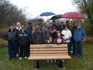 Harold Byrne Memorial Bench